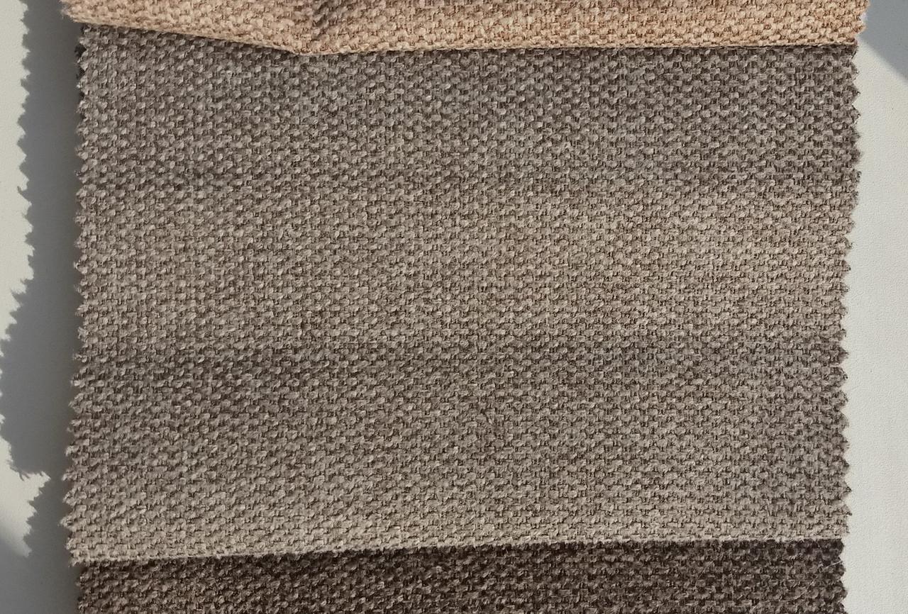 Обивка для дивана ткань рогожка Лидо 3 бронз ( LIDO 3 BRONZE )