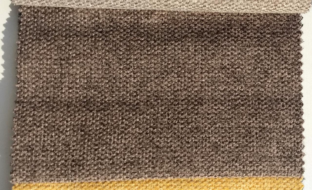 Обивка для дивана ткань рогожка Лидо 4 браун ( LIDO 4 BROWN )