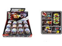 Детская Игрушка Машинка Battle Gyro Car Боевые Жуки В Яйце 12 шт В Упаковке
