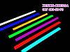 LED COB DRL 14 см Голубые (сплошные линейки), фото 6