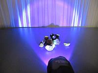 Фонарь Bailong - Police налобный ультрафиолетовый 400нм Аккумуляторный, фото 1