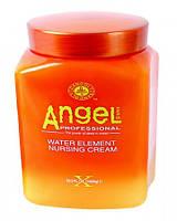 Маска для відновлення сухих і пошкоджених волосся - живильний крем Angel Professional, 1000 мл