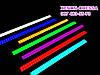 LED COB DRL 17 см Красные (сплошные линейки), фото 6