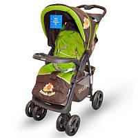 Детская прогулочная коляска книжка  Sigma S-K-6F Brown Оливковый