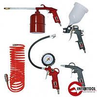 Набор покрасочный пневматический Intertool PT-1501