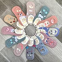 Подследники детские х/б с рисунком Малыш, 25-30 размер, 4-8 лет, ассорти, С-508-3