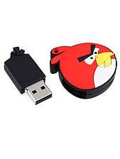 Прикольная флешка Angry Birds красная птица на 8 гб