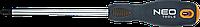 Отвертка Phillips PH0x75 мм CrMo 04-021 Neo, фото 1