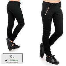 Жіночі брюки утеплені Місто (чорні)