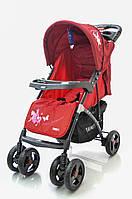 Детская прогулочная коляска книжка  Sigma YK-8F Красный