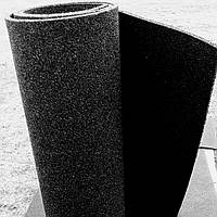 Резиновый коврик 1200х2400х15 черный