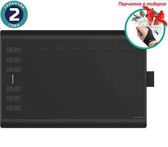 Графический планшет Huion Inspiroy H1060P + перчатка
