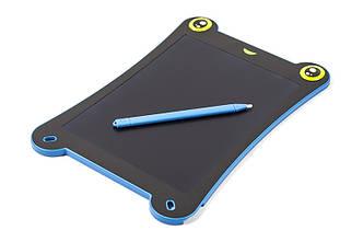 LCD планшет для записей PowerPlant Writing Tablet 8.5 Frog Shaped Blue (NYWT085C)