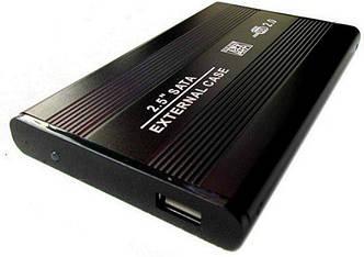 Внешний карман Grand-X для подключения SATA HDD 2.5, USB 2.0, алюминий (HDE21)