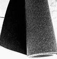 Резиновый коврик 1500х700х15 черный, фото 1