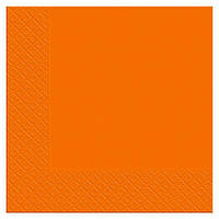 Салфетка столовая Luxy Оранжевая 20шт/уп