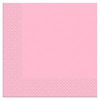 Салфетка столовая Luxy Розовая 20шт/уп