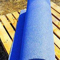 Резиновый коврик 1200х2400х15 синий, фото 1