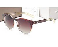Женские солнцезащитные очки (8207) коричневые, фото 1