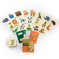 ЗООПАРК - Развивающая настольная игра для детей от 1 года