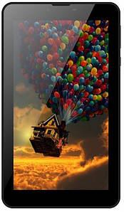 Планшетный ПК Bravis NB754 6.95 3G Dual Sim Black, 6.95 (1280x720) IPS / Mediatek MTK8321 / ОЗУ 1 ГБ / 16 ГБ встроенной + microSD до 32 ГБ / камера 2