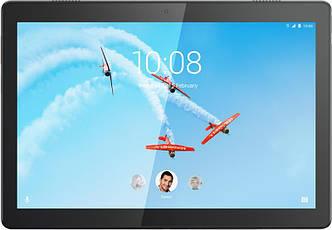 Планшетный ПК Lenovo Tab M10 TB-X605L 32GB 4G Slate Black (ZA490005UA), 10.1 (1920х1200) IPS / Qualcomm Snapdragon 450 / ОЗУ 3 ГБ / 32 ГБ встроенная +