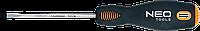 Отвертка шлицевая 3.0 x 75 мм, CrMo 04-011 Neo
