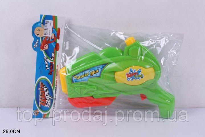 Водяное оружие 28см A-16 кул.ш.к., Детская водяная игрушка, Игрушечный водный пистолет,Водный пистолет детский