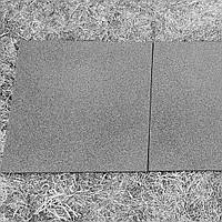 Резиновая плитка 500х500х20 серая, фото 1