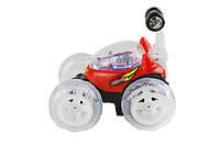 Машинка Трюковая Перевертыш  на радиоуправлениисо световыми эффектами -  для детей от 2 лет отличный подарок