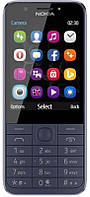 Мобильный телефон Nokia 230 Dual Sim Blue (16PCML01A02), 2.8 (320х240) TN / MediaTek 6260C / ОЗУ 16 МБ / 128 МБ встроенной + microSD до 32 ГБ / камера