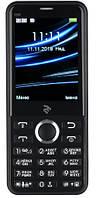 Мобильный телефон 2E E280 2018 Dual Sim Black (708744071170), 2.8 (320х240) TN / клавиатурный моноблок / 32 МБ встроенной + microSD до 16 ГБ / камера