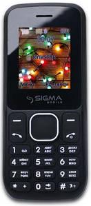 Мобильный телефон Sigma mobile X-style 17 UP Dual Sim Black, 1.77 (160х128) TN / клавиатурный моноблок / Spreadtrum SC6531E / microSD до 32 ГБ / без