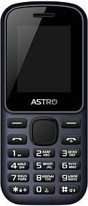Мобильный телефон Astro A171 Dual Sim Blue, 1.77 (128х160) TN / клавиатурный моноблок / MediaTek MTK6261 / ОЗУ 32 МБ / 32 МБ встроенной + microSD до