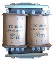 Трансформатор напряжения ТС-1,6 кВт 380/220 понижающий трехфазный  сухой