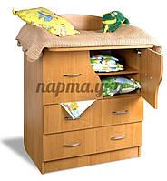 Комод- пеленальный столик, ЛДСП, фото 1