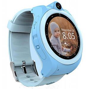 Детские смарт-часы GoGPS ME К19 Синий (К19СН), 1.54 (240x240) LCD сенсорный / MediaTek MTK2503 / ОЗУ 128 МБ / 32 МБ встроенной / камера 2 Мп / GPS,