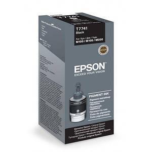Чернила EPSON M100/M105/M200 (C13T77414A) Black Pigment, 140 г
