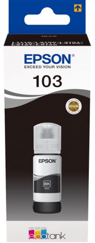 Чернила EPSON L3100/3101/3110/3150/3151 Black (C13T00S14A) 65 мл