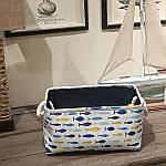 Корзина для игрушек, белья, хранения Рыбки (35х25х16 см) Berni