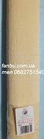 Креп бумага кремовая №577