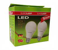 """Промо-набор LED Лампа A60 10W E27 3000K акция """"1+1"""""""