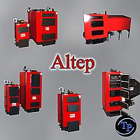 Твердотопливные котлы Альтеп КТ-1Е, КТ-2Е, КТ-3Е, мощность от 14 до 350 кВт. Бесплатная доставка!