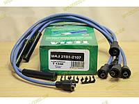 Провода свечные Ваз 2101 2102 2103 2104 2105 2106 2107 Тесла зеленые (TS T134H), фото 1