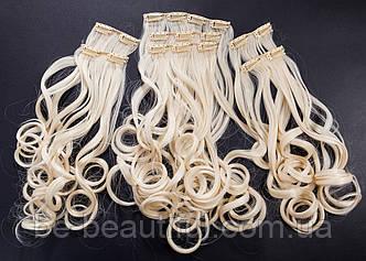№6.Набор из 6 прядей,цвет классический блонд