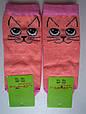 Носки Детские котики персиковые размер 23-26 на 3-5 лет, фото 3