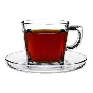 Чашка с блюдцем для чая 210мл. 95307 Baltic