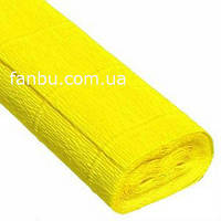 Креп бумага желтая №575