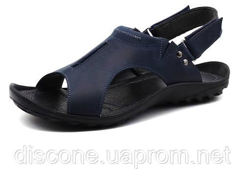 Сандалии кожаные мужские GS-комфорт, синие