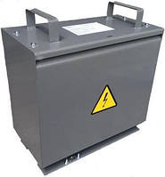 Трансформатор напряжения ТСЗИ-1,6 кВт 380/12 понижающий трехфазный  сухой